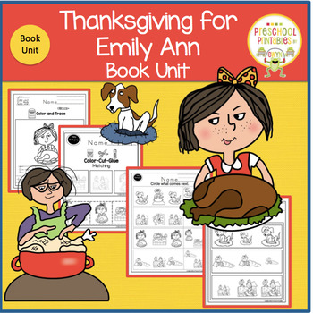 Thanksgiving for Emily Ann   Book Unit