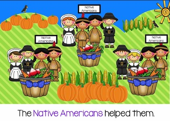 Thanksgiving for Smartboard - Social Studies Unit
