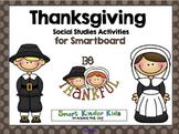 Thanksgiving for Smartboard - Social Studies Unit