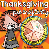 Thankfulness Thanksgiving Writing Activity FREE