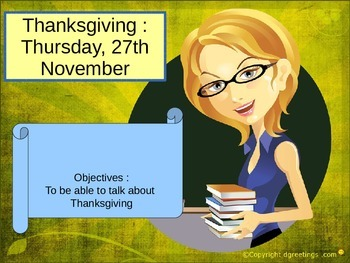 Thanksgiving freebie quiz