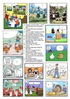 Thanksgiving fun (comics)