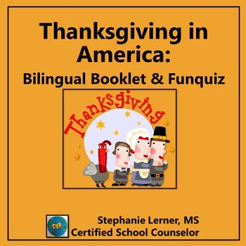 Thanksgiving in America Bilingual Booklet & FunQuiz