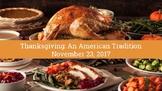 Thanksgiving in America: ESL Presentation