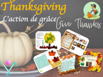 Thanksgiving in French PPT lesson