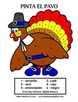 Thanksgiving in Spanish
