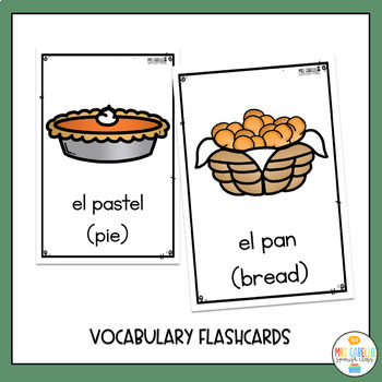 Thanksgiving in Spanish Activity Pack