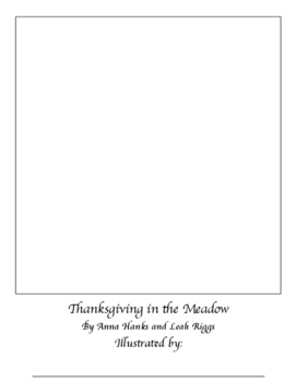 Thanksgiving in the Meadow Blank Book