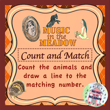 Thanksgiving in the Meadow Count and Match