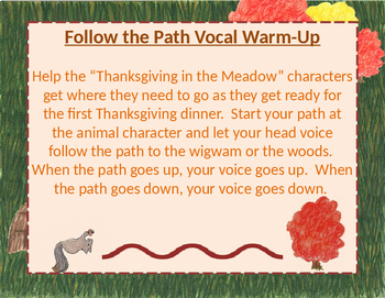 Thanksgiving in the Meadow Vocal Exploration Warm-Up