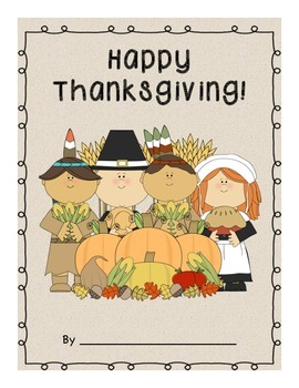 Thanksgiving is Coming, Class Book