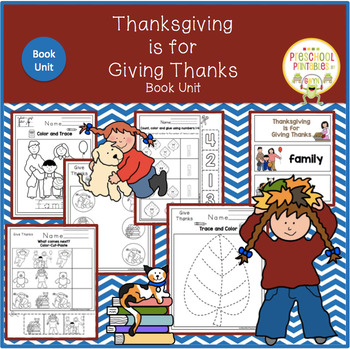 Thanksgiving is for Giving Book Unit