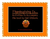 Thanksgiving is...{Freebie! 2 Reading Activities}