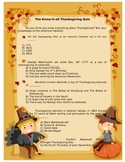 Thanksgiving knowitall quiz