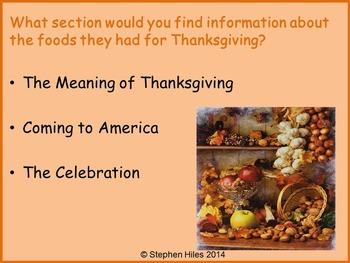 Thanksgiving Lessons: Grades (K-2) Bundled