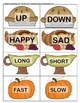 Thanksgiving matching games - Opposites, Synonyms, Categor