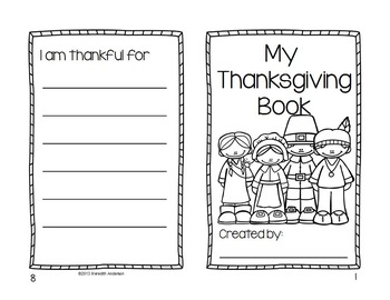 Thanksgiving Activities for K-2