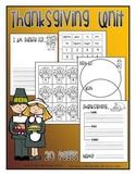 Thanksgiving mini-unit
