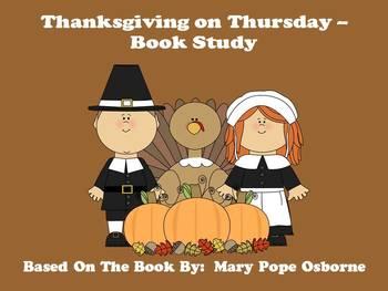 Thanksgiving on Thursday - Book Study