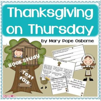 Thanksgiving on Thursday - MTH Common Core Book Study
