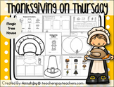 Thanksgiving on Thursday:MTH #27 Centers and Activities (T
