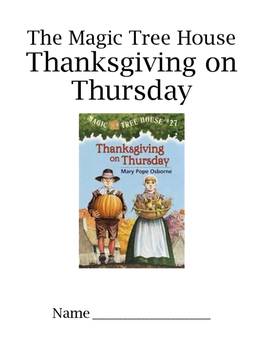 Thanksgiving on Thursday Comprehension Guide