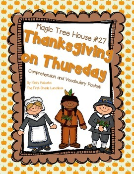 Thanksgiving on Thursday Comprehension Packet