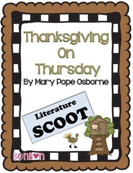 Thanksgiving on Thursday Literature Scoot