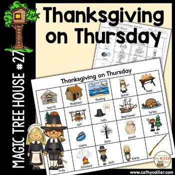 Magic Tree House - Thanksgiving on Thursday #27
