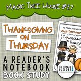 Thanksgiving on Thursday: Magic Tree House #27 Book Study