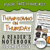 Thanksgiving on Thursday: Jack and Annie, MTH #27 Book Study