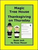 Magic Tree House Thanksgiving on Thursday Book Study