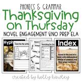 Thanksgiving on Thursday NO PREP ELA