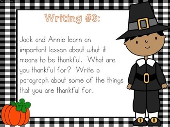Thanksgiving on Thursday - Magic Tree House - No Copies Needed Instruction!