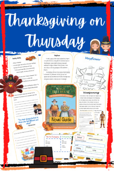 Thanksgiving on Thursday - The First Thanksgiving Unit -Common Core Aligned