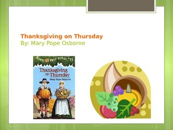 Thanksgiving on Thursday Vocabulary PPT