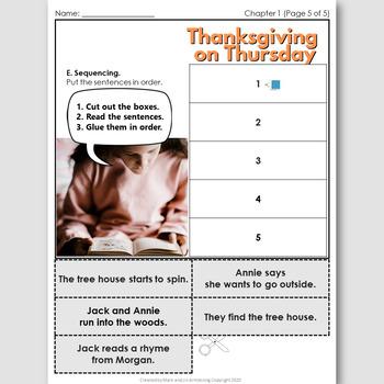 Thanksgiving on Thursday, an English Novel Study for Spanish Speakers