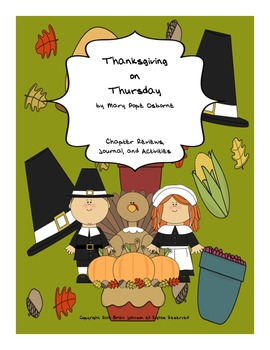 Thanksgiving on Thursday by Mary Pope Osborne {Book Unit}