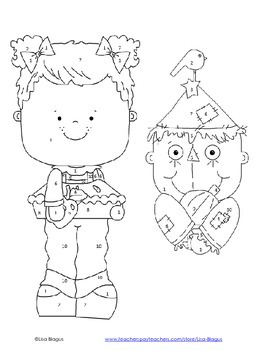 Autumn Pattern & Function Coloring Activity