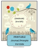 Thanksgiving or Gratitude Journal Prompts