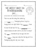 Thanksgiving possessive nouns