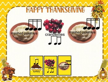 Thanksgiving rhythms #2