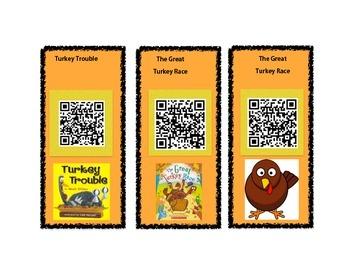 Thanksgiving stories QR Codes