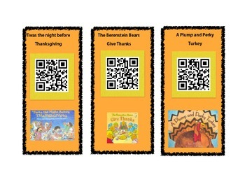 Thanksgiving stories QR Codes