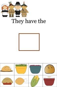 Thanksgiving subject pronoun/verb agreement FREEBIE