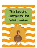 Thanksgiving thankful writing