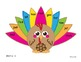 Thanksgiving themed Real and Nonsense CVC Word Reading Cards