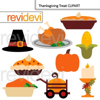 Thanksgiving treat clip art