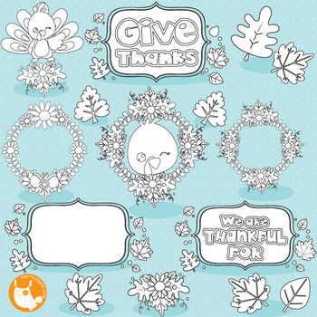 Thanksgiving turkey stamps commercial use, vector graphics, images  - DS1036