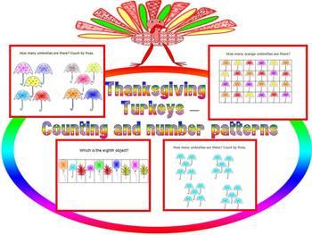 Thanksgiving Activities - Turkeys - PowerPoint presentation